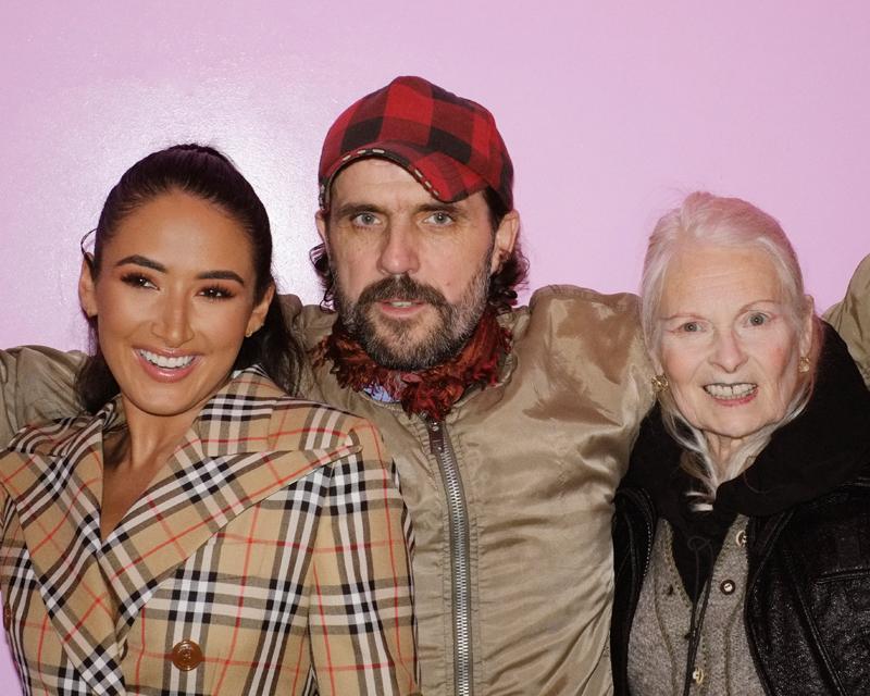 Cora Corre, Andreas Kronthaler et Vivienne Westwood