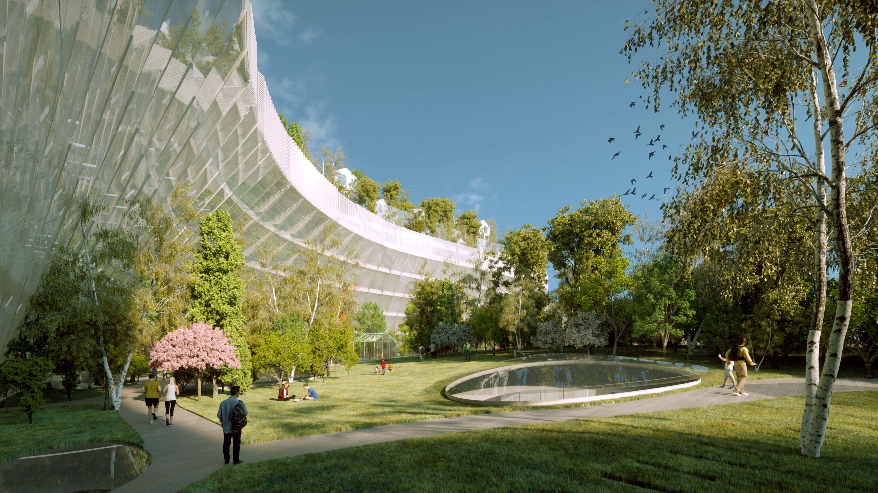 Projet 1000 arbres Paris