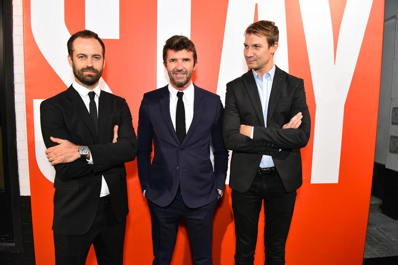 Benjamin Millepied, Paul-Emmanuel Reiffers et Matthieu Humery