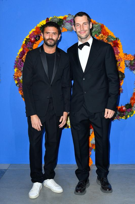 Alexandre Mattiussi et Simon Porte Jacquemus