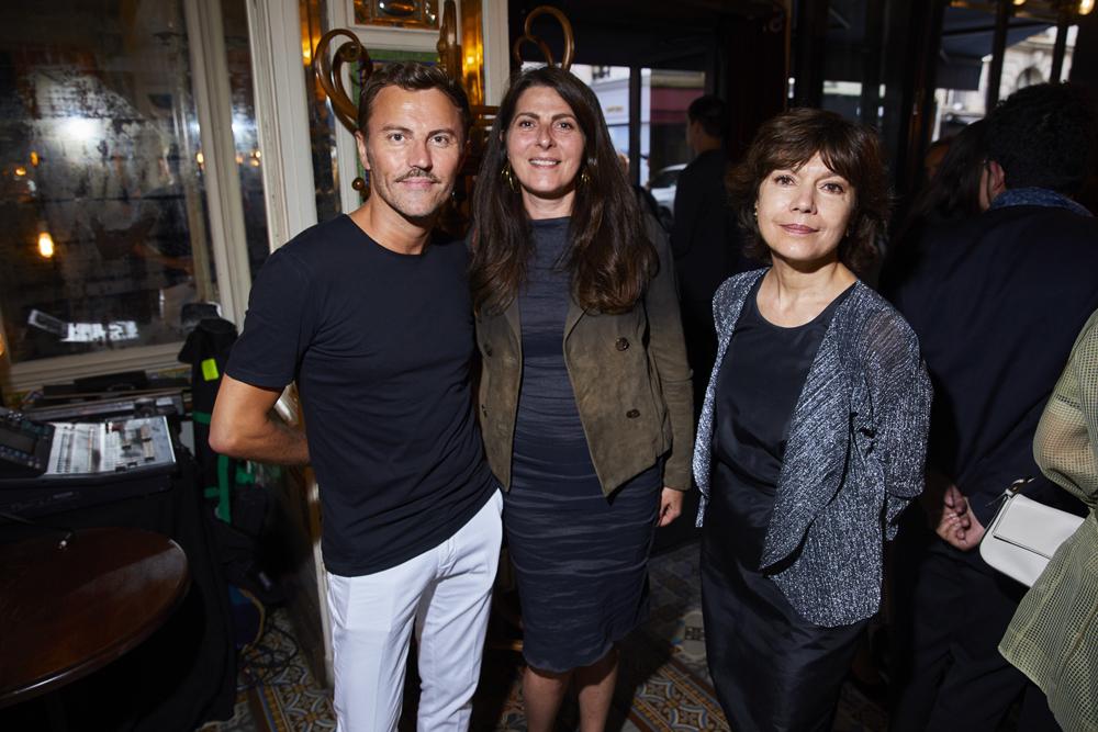 Matthieu de Pond, Denise Vilgrain et Nathalie Obadia
