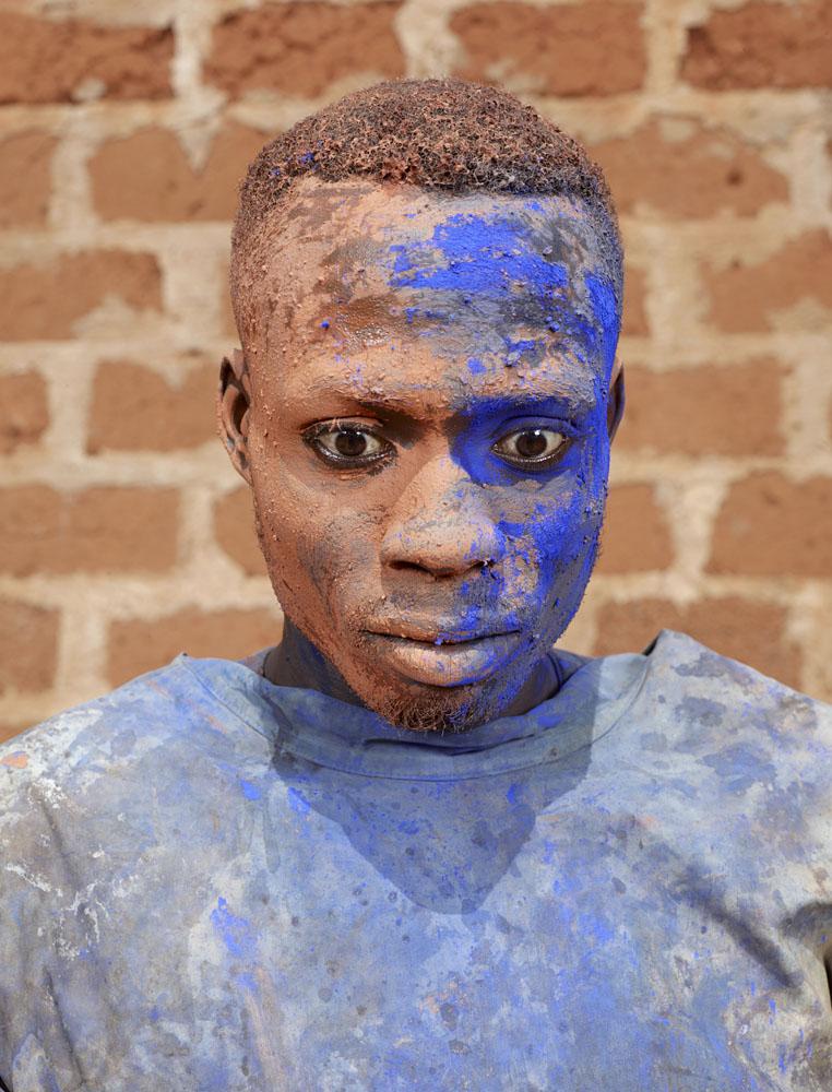"""Charles Fréger, de la série """"Asafo"""" 2014."""