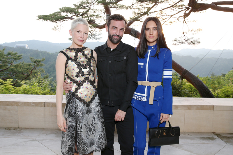 Michelle Williams, Nicolas Ghesquière et Jennifer Connelly