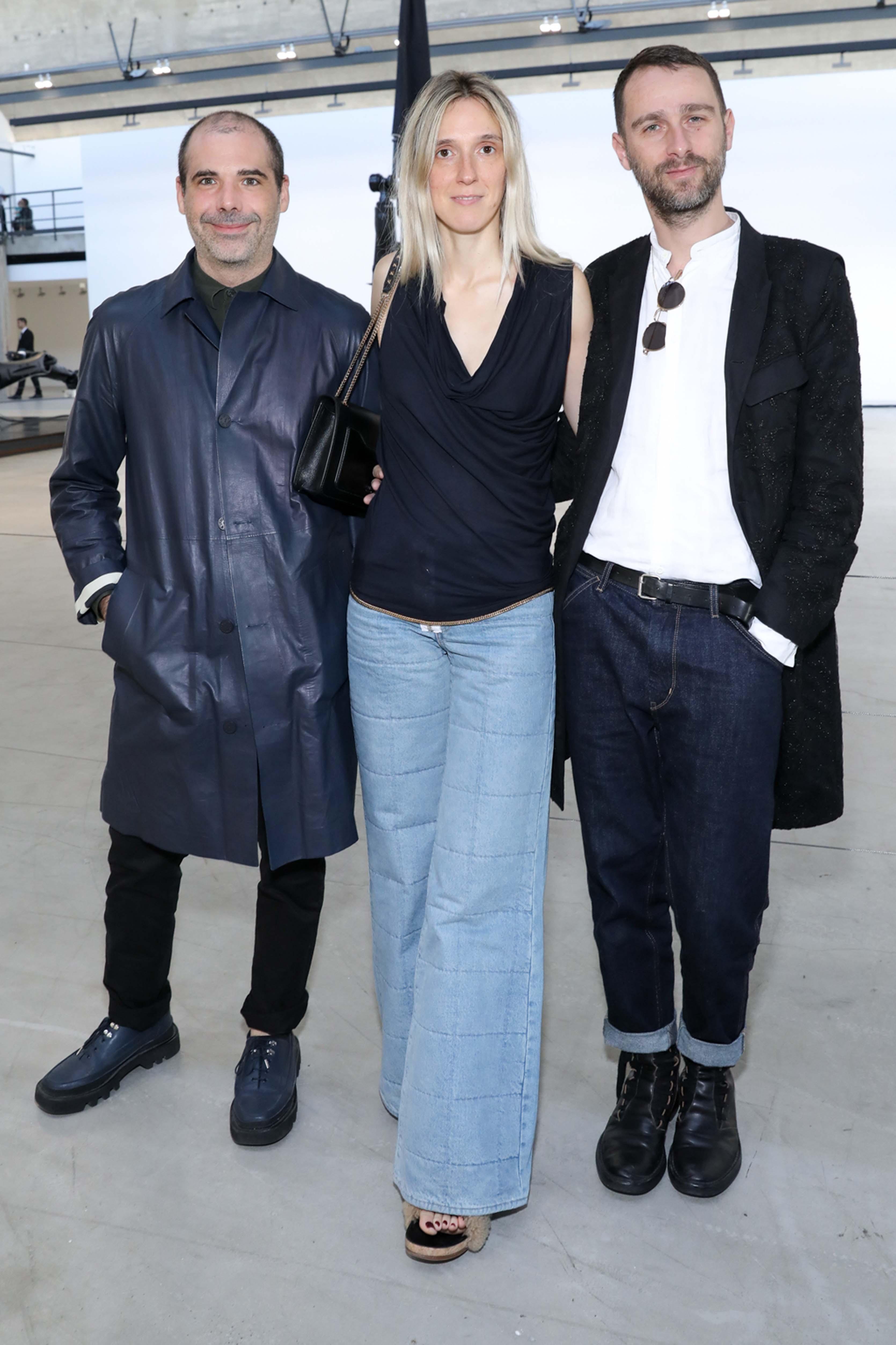 Carl Ganivet, Delphine Roche et Sébastien Meunier