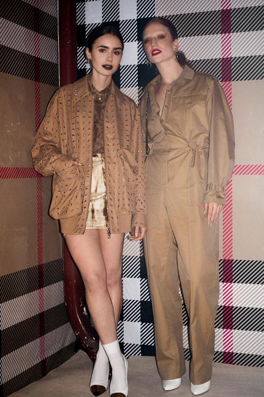 Lily Collins et Jess Glynne
