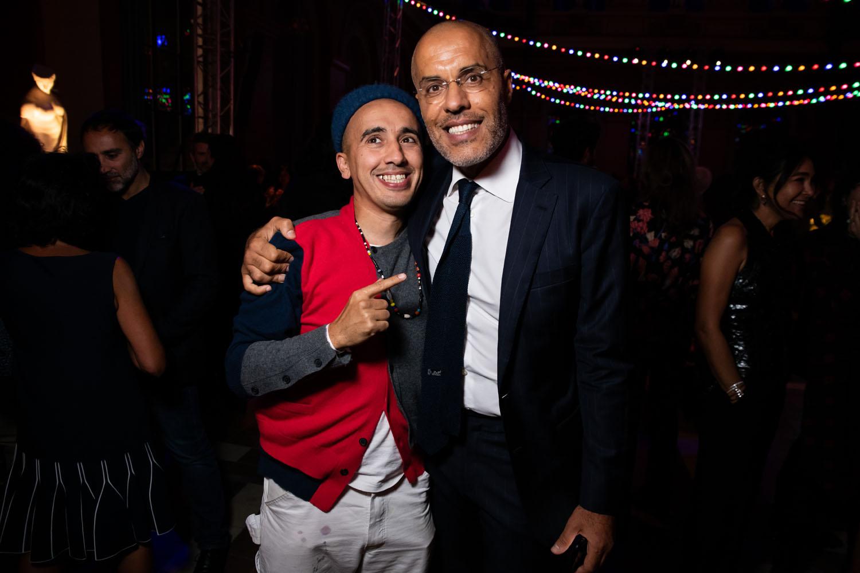 Ramdane Touhami et Kamel Mannour