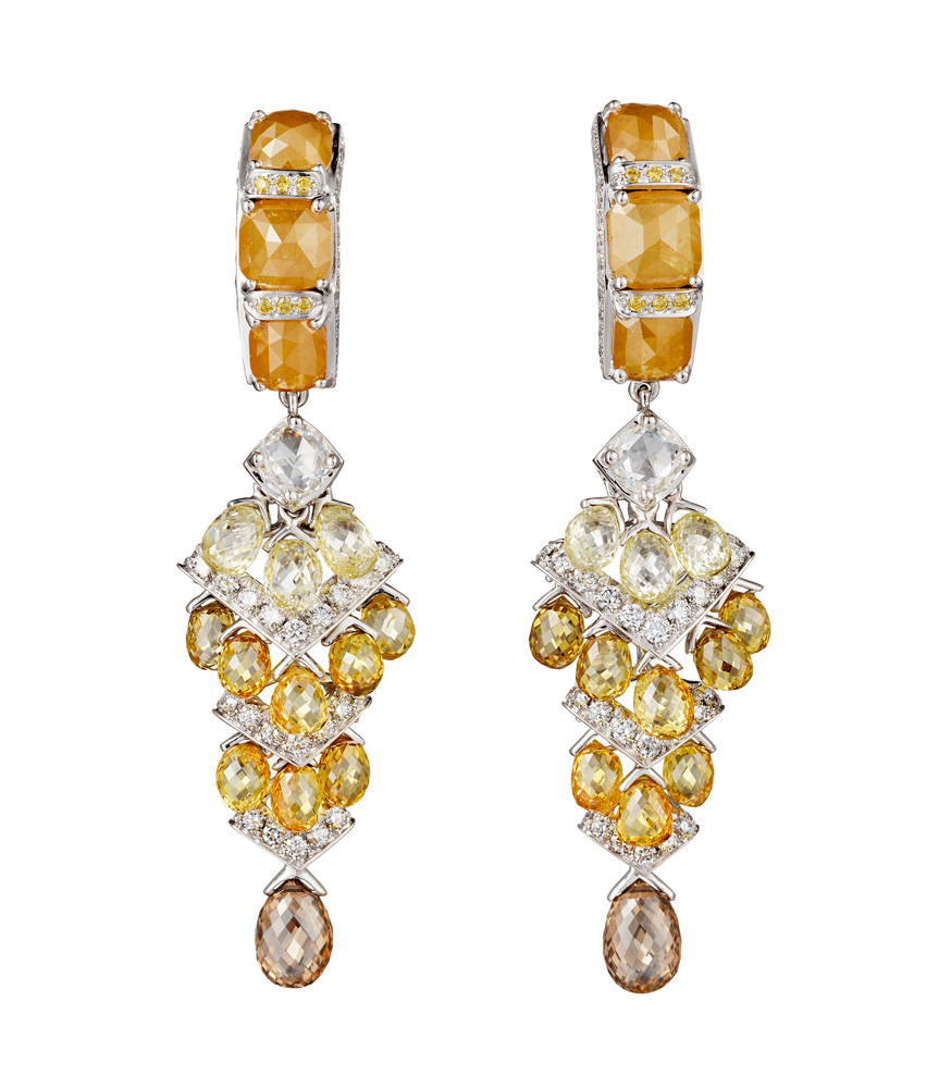 "Collection ""Magnitude"" de Cartier, Boucles d'oreilles Yuma"