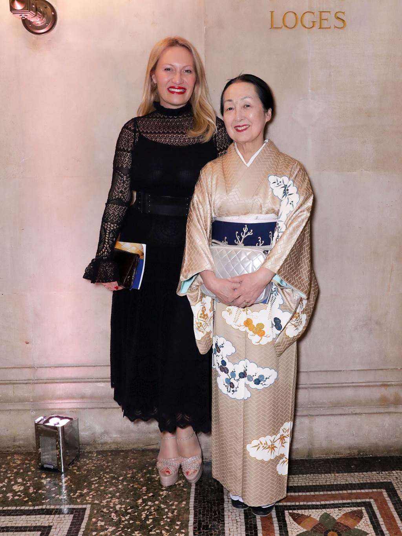 Diana Widmaier-Picasso et Setsuko Klossowska de Rola.  ©François Goize