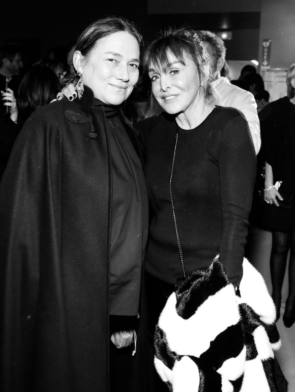 Friquette Thévenet et Babeth Djian