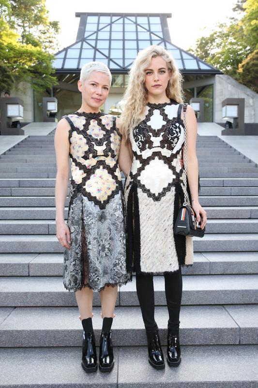Michelle Williams et Riley Keough