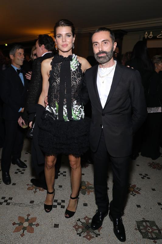Charlotte Casiraghi et Giambattista Valli