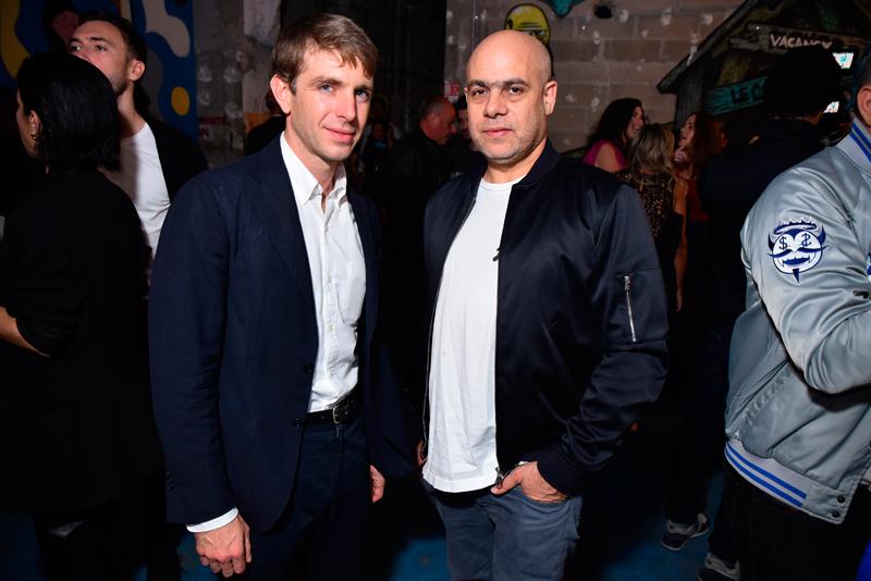 Alessandro Possati and Laurent Grasso