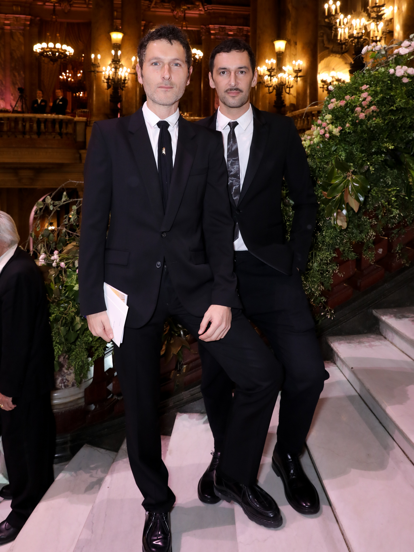 Simon Buret et Olivier Coursier.  ©François Goize
