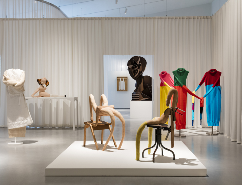 View of the set at The Hepworth Wakefield Gallery. Photos: Lewis Ronald