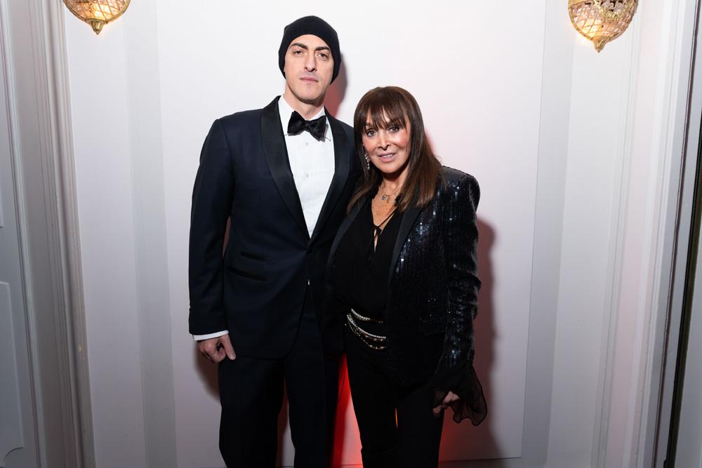 Gabriele Moratti et Babeth Djian