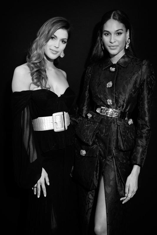 Iris Mittenaere et Cindy Bruna