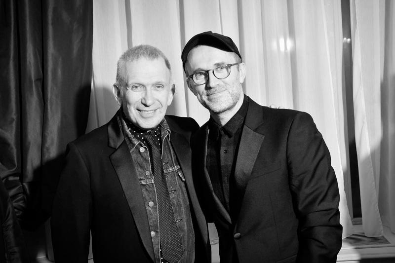 Jean Paul Gaultier et Loïc Prigent