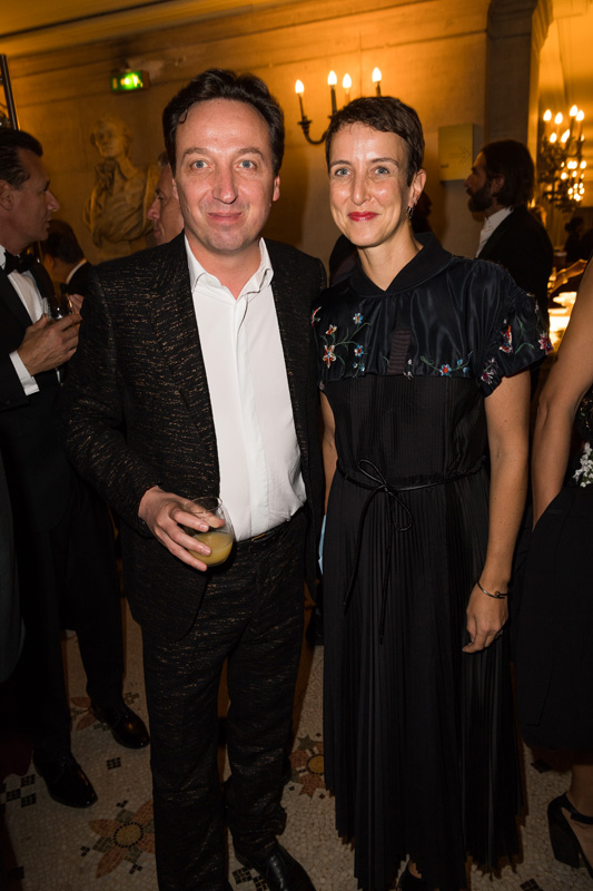 Emmanuel Perrotin et Sarah Andelman