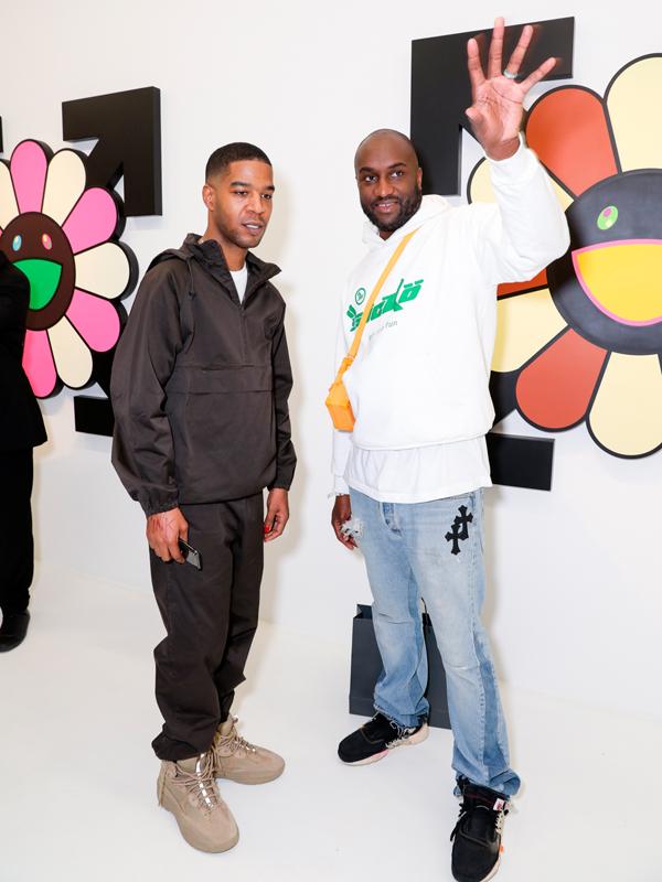 Kid Cudi et Virgil Abloh