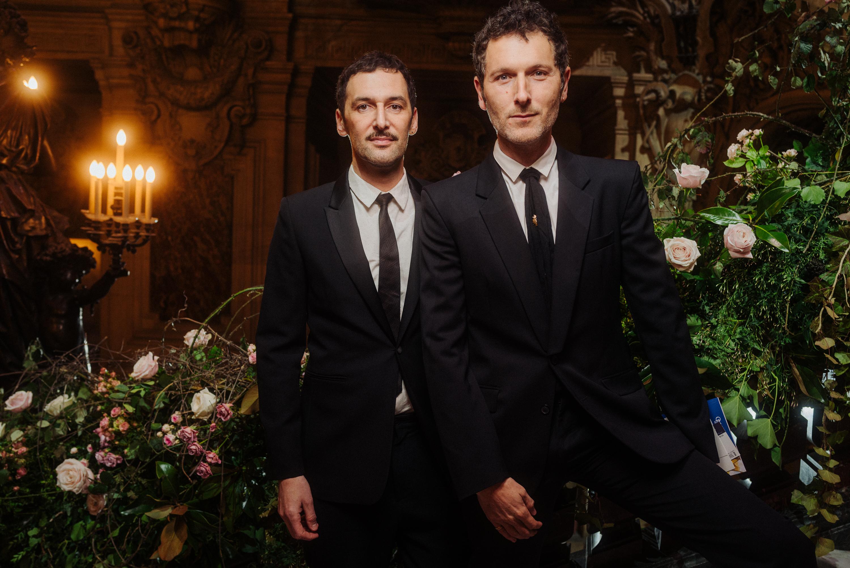 Olivier Coursier et Simon Buret.  ©Virgile Guinard