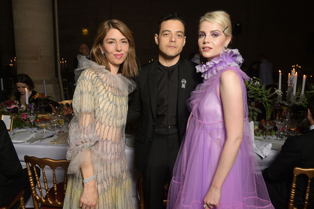 Sofia Coppola, Rami Malek et Lucy Boynton