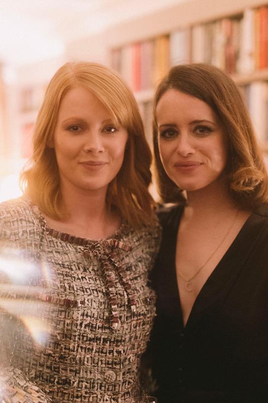 Emily Beecham et Claire Foy