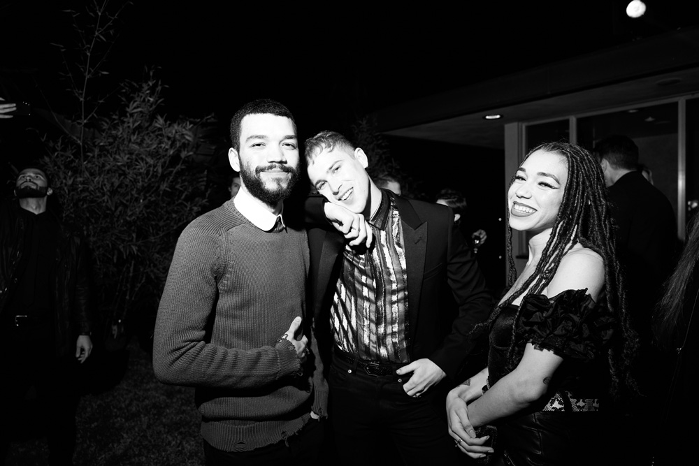 Justice Smith, Tommy Dorfman et Cameo Smith