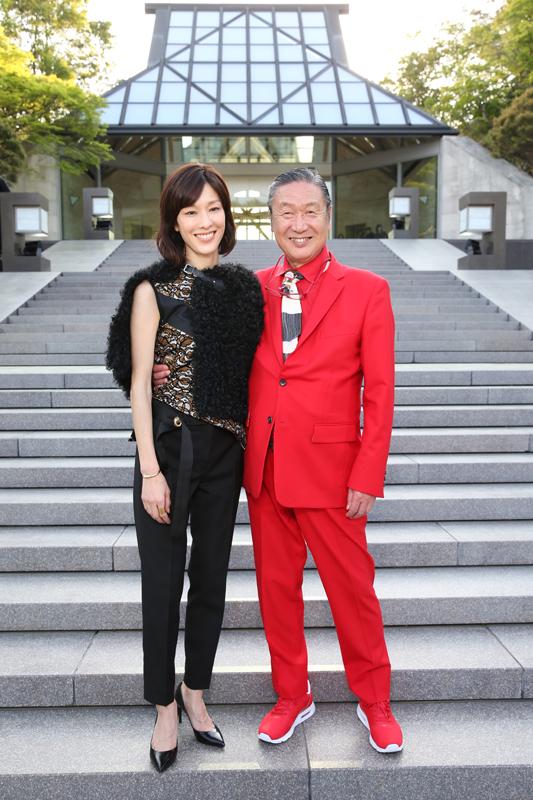 Mirai Yamamoto et Kansai Yamamoto