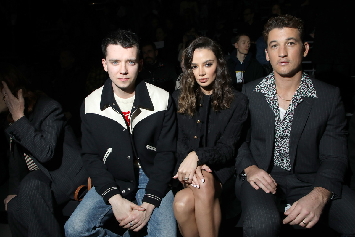 Asa Butterfield, Keleigh Sperry et Miles Teller