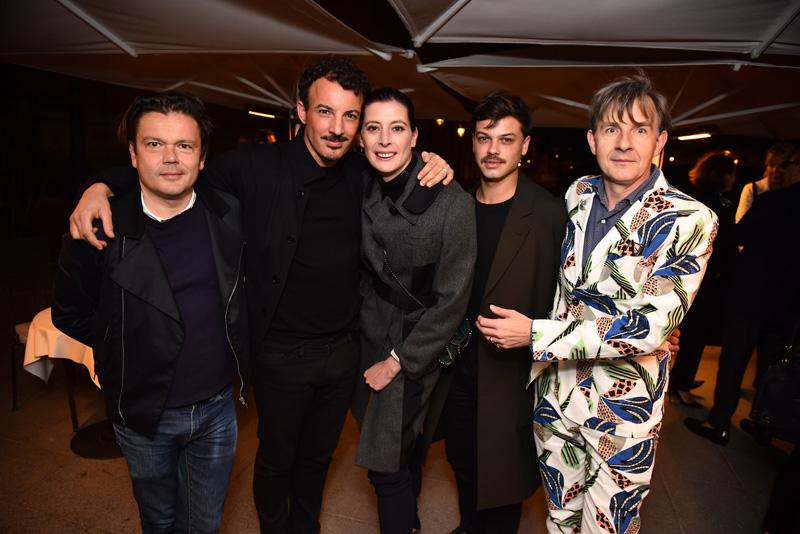Jean-Michel Othoniel, Nicolas Ouchenir, Marie-Agnès Gillot, Hugo Matha