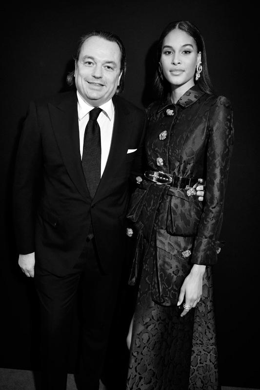 Gilles Mansard et Cindy Bruna