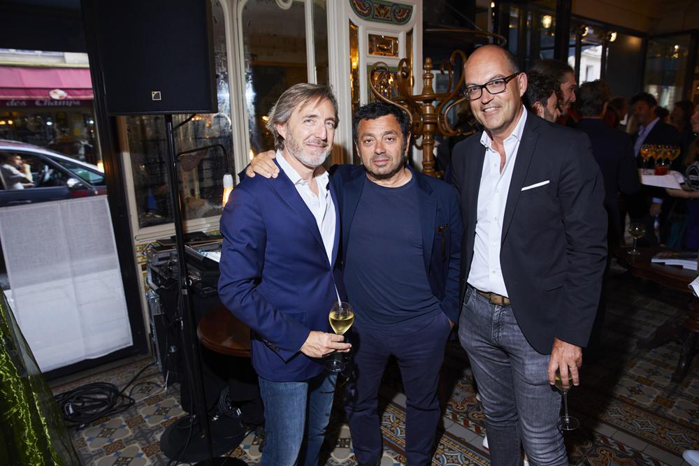 Stéphane Fournier, Charles Zana et Richard Verglas