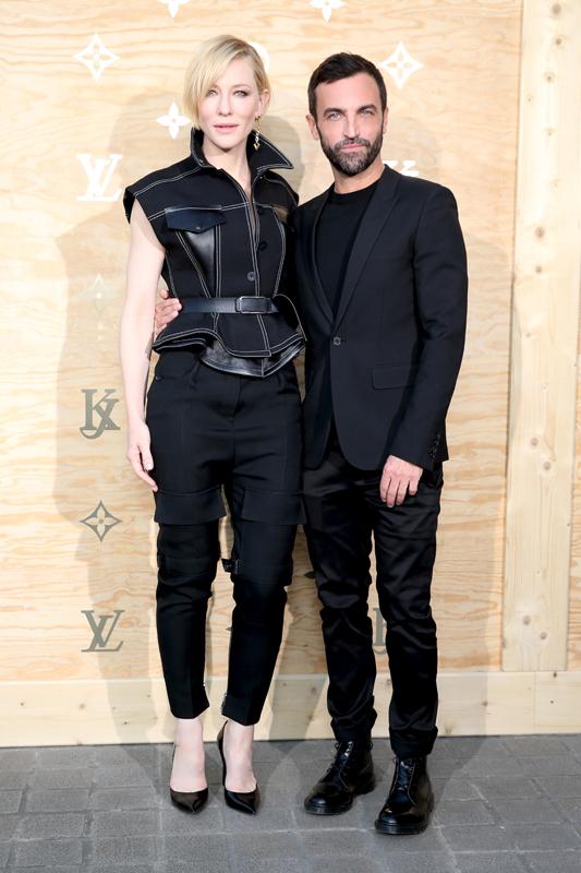 Cate Blanchett et Nicolas Ghesquiere