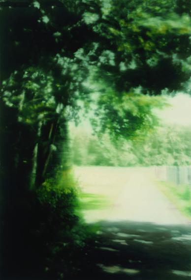 """Gerhard Richter """"Summer Day """" (Jour d'été), 1999, huile sur toile ; 117 x 82 cm Autriche, Vienne Albertina, prêt permanent d'un prêteur privé, Autriche © Gerhard Richter 2017 (21122016)"""