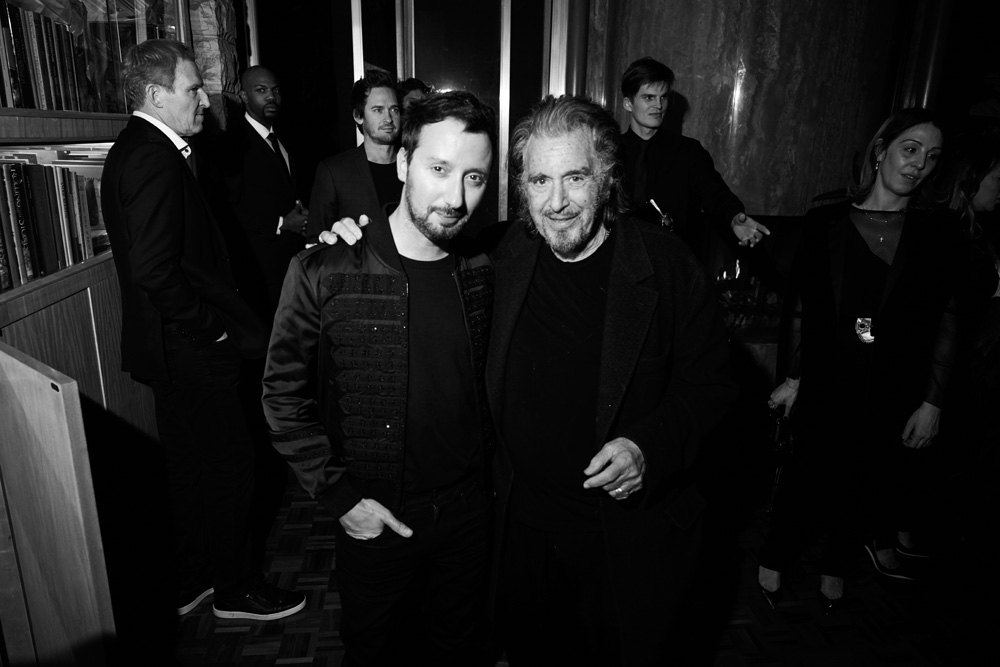 Anthony Vaccarello et Al Pacino