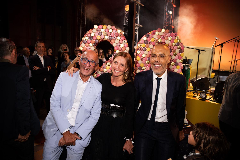 Didier et Clémence Krzentowski et Kamel Mennour