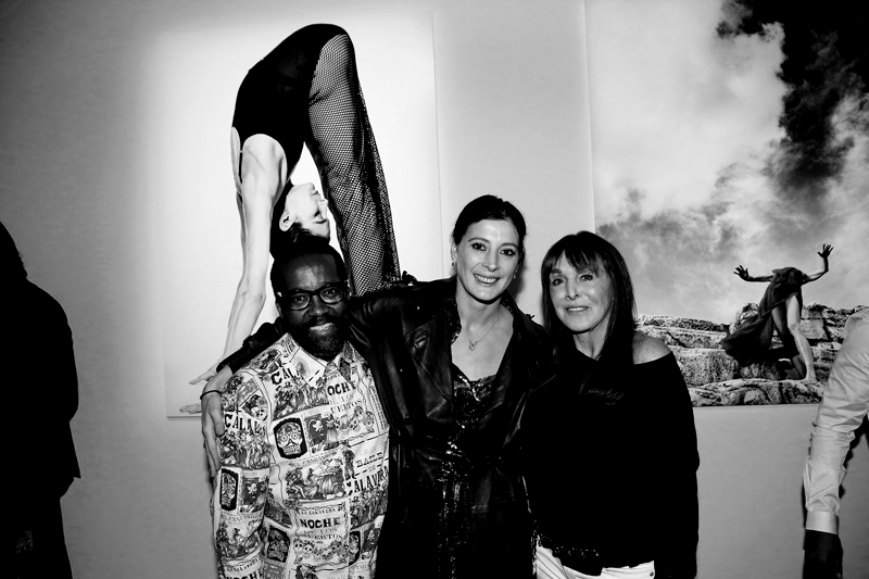 Koto Bolofo, Marie-Agnès Gillot et Babeth Djian