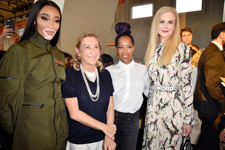 Winnie Harlow, Miuccia Prada, Regina King and Nicole Kidman