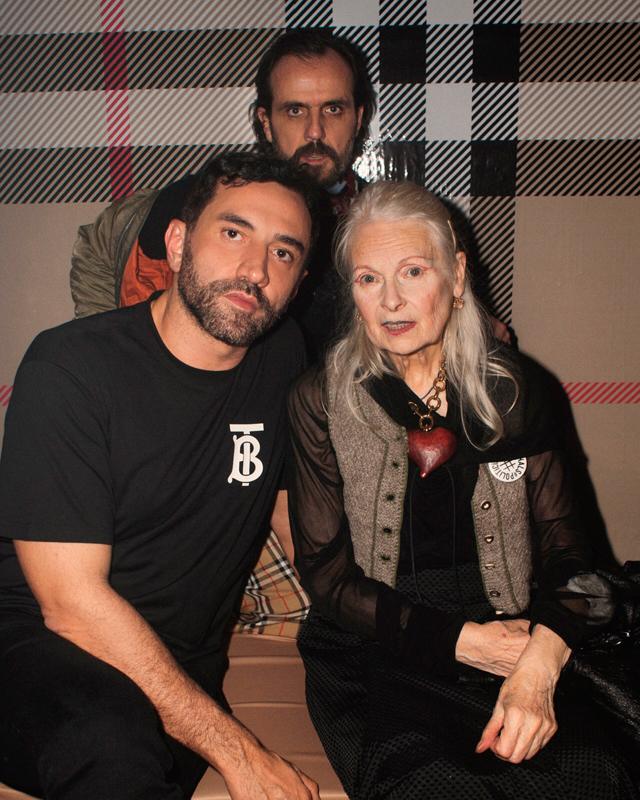 Riccardo Tisci, Vivienne Westwood et Andreas Kronthaler