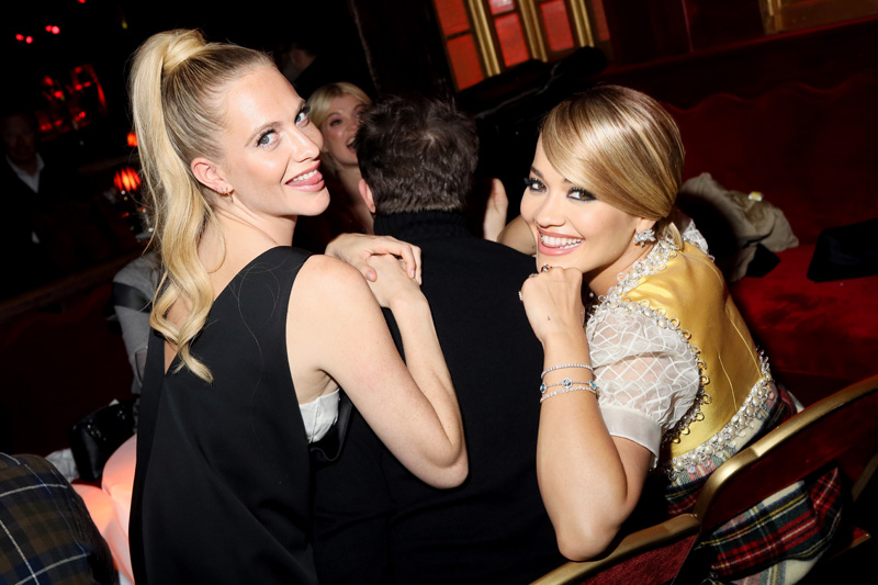 Poppy Delevingne et Rita Ora