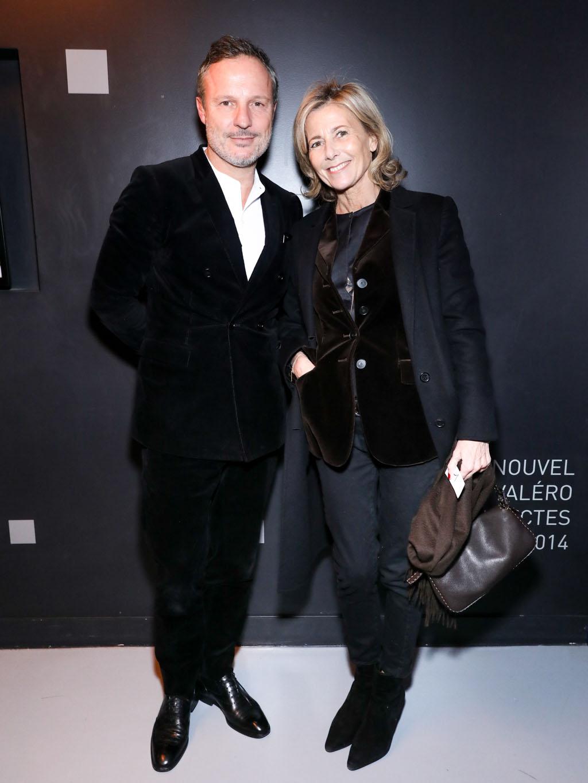 Olivier Bialobos et Claire Chazal