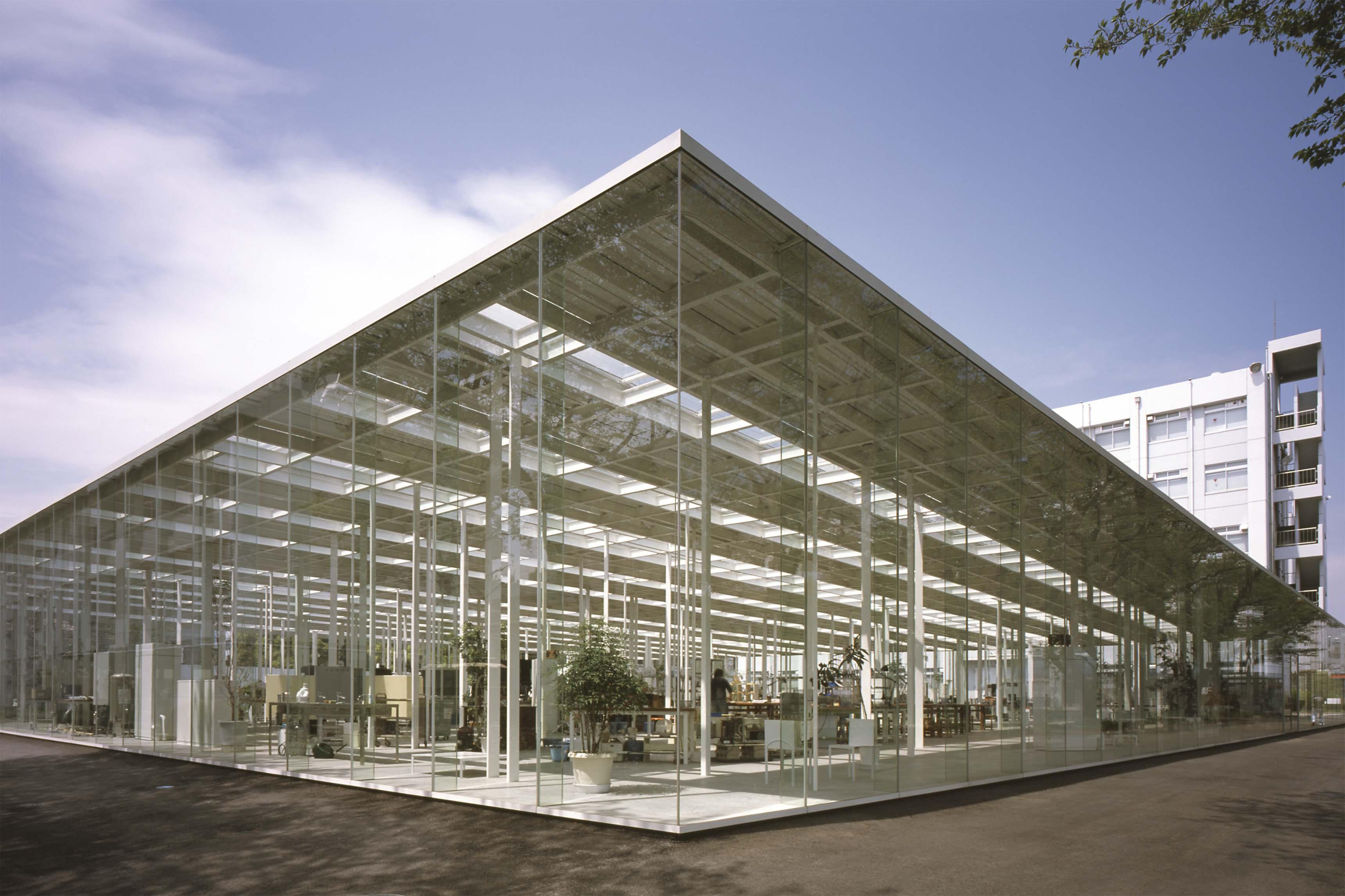 Junya Ishigami, Atelier KAIT, Institut de technologie de Kanagawa, 2008