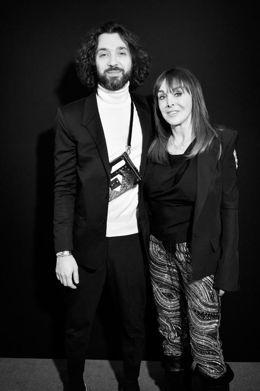 Benjamin Cercio et Babeth Djian