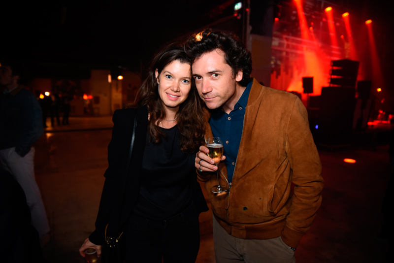 Olivia de Smedt and Charles Carmignac