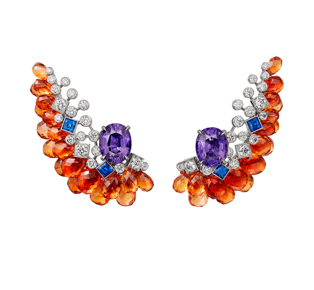 "Collection ""Magnitude"" de Cartier, Boucles d'oreilles Zemia"