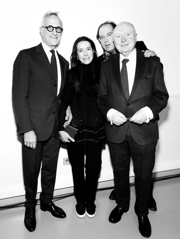 Maître François de Ricqlès, Caroline Fabre Bazin et Christophe Von Weyhe