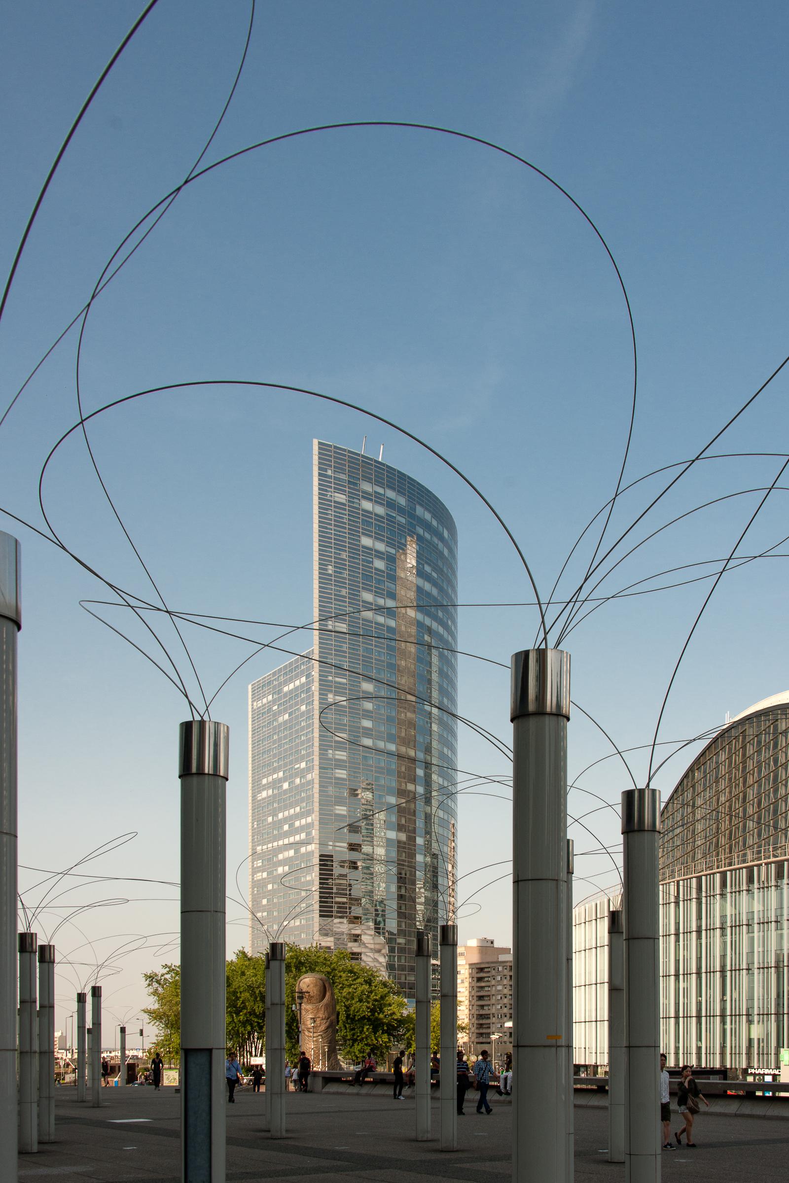 """""""Utsurohi"""" d'Aiko Miyawaki, La Défense, Puteaux."""