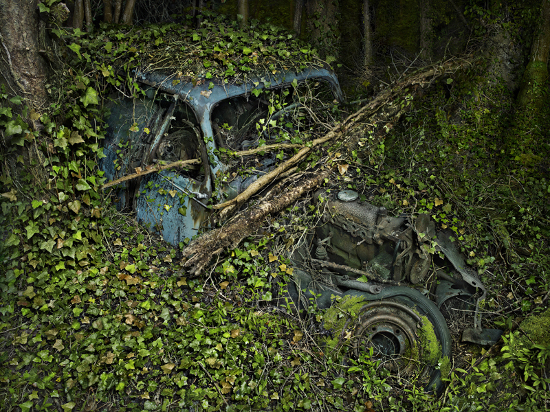 Peter Lippmann, Citroën Traction 7, 2012 Série Paradise Parking Tirage chromogène, 75 × 100 cm Collection de l'artiste © Peter Lippmann