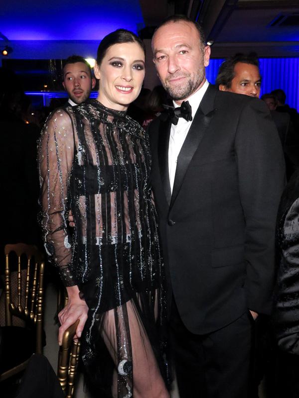 Marie-Agnès Gillot et Jérôme Pulis