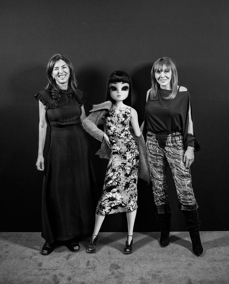 Simona Cattaneo, Noonoouri et Babeth Djian